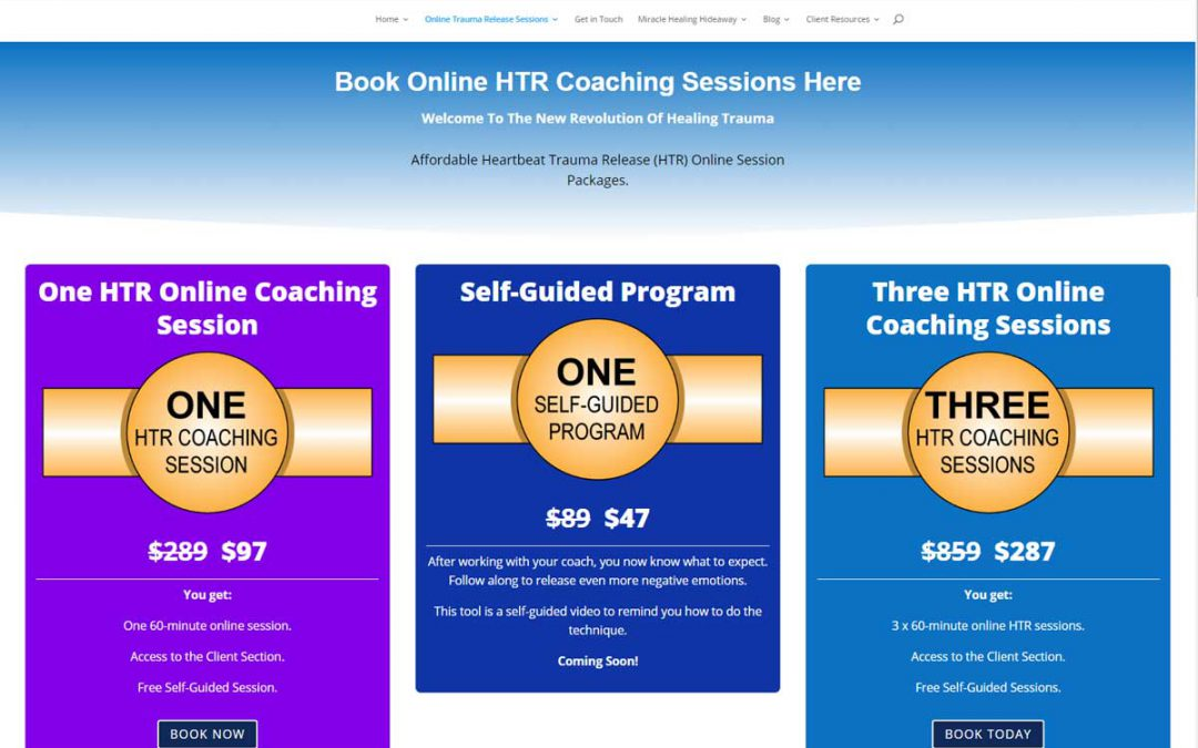 Book Online HTR Coaching Sessions