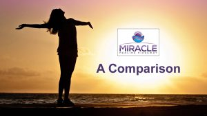 Miracle Healing Hideaway: a comparison