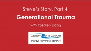 Generational trauma and anger