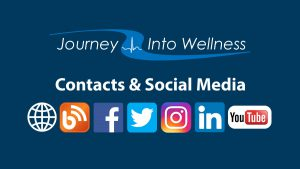 Journey into Wellness contact details and social media channels