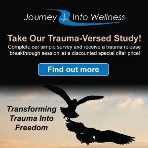Complete our simple survey and receive a trauma release 'breakthrough session' at a deeply discounted special offer price!